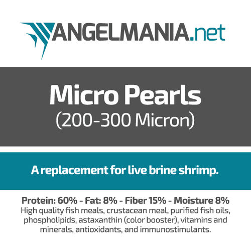 Micro Pearls Live Brine Shrimp Replacement .5oz